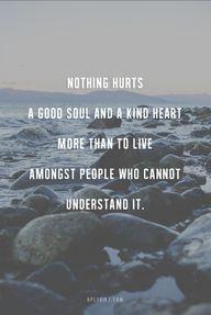 a good soul & kind h