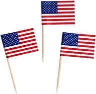 American Flag Toothpicks