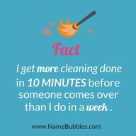 Cleaning with kids #