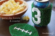 DIY game day koozies