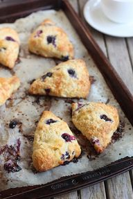 Blueberry Brie Scone