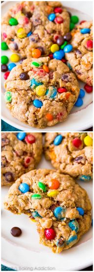 Chewy Oatmeal M&M Co