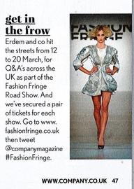 Fashion Fringe Road