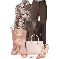 Pink and Brown...