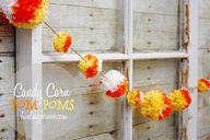 Candy Corn Pom Pom G