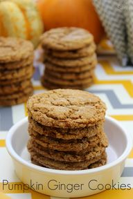 Pumpkin Ginger Cooki