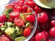 Simple Tomato And Av