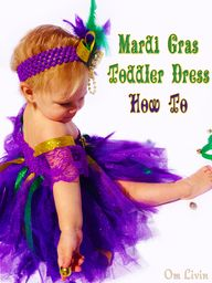 Mardi gras toddler d