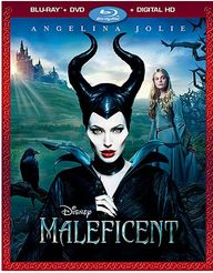 Maleficent on Blu-Ra
