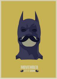#Batman #Movember