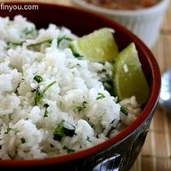 Lime Cilantro Rice (