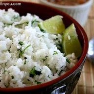 Lime Cilantro Rice (