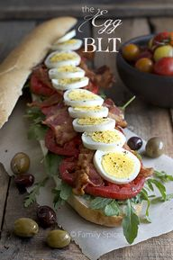 The Egg BLT by Famil