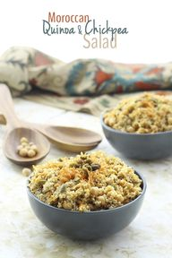 Moroccan Quinoa and