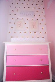Pink Ombre Dresser a
