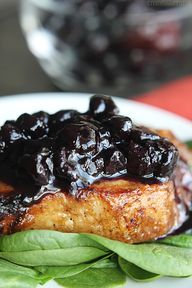 Blueberry Balsamic P