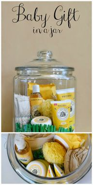 Baby Gift in a Jar,