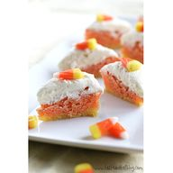 Lemon candy corn bar