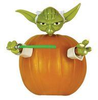 yoda pumpkin push pi