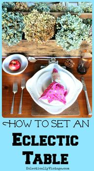How to Set an Eclect