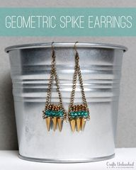 DIY Geometric Spike