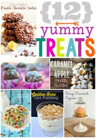 12 Yummy Treats at G
