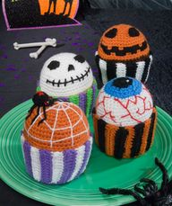 Scary Muffins Croche
