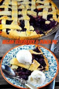 Vegan Blueberry and