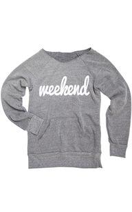 weekend hoodie
