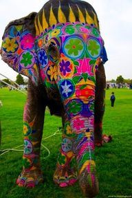 Elephant art...which