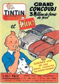 Tintin grand concour