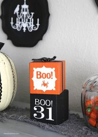 halloween decor from