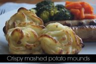 Crispy mashed potato