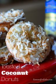 Toasted Coconut Donu