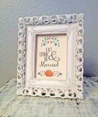 DIY wedding printabl...