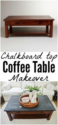 DIY chalkboard top c