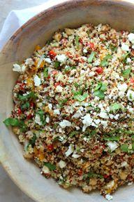 Quinoa and Feta Summ