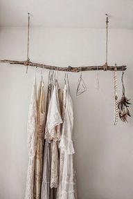 hanging branch wardr