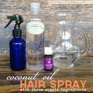 Coconut Oil Hair Spr