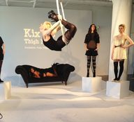 Acrobats at the Kix'