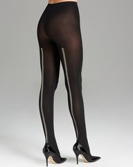 Wolford Zip Tights