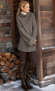 sweater and boots ♥✤...