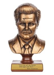 Ron Swanson Bust