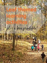 Leaf learning activi