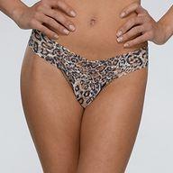 Classic leopard thon