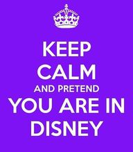 Keep Calm #Disney