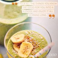 Green smoothie heave