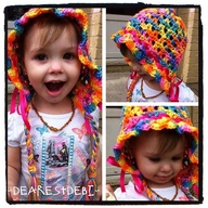 Star Flower Bonnet -