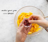 Spicy Peach Jam / @l
