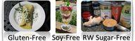 Gluten-free, Soy-fre